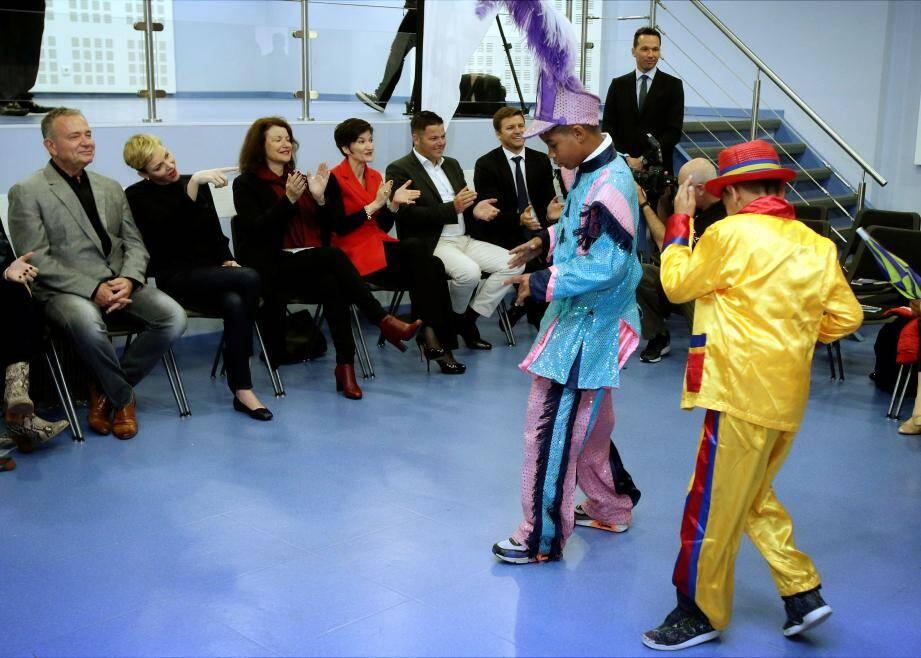 L'an dernier, les enfants accueillis ont proposé un spectacle aux couleurs du Carnaval.