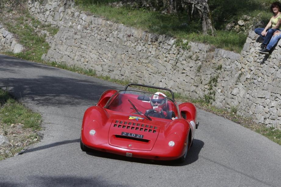 Claude Calvel sera au volant de l'ABARTH 1000 SP de 1966 Collection Michel Pont.