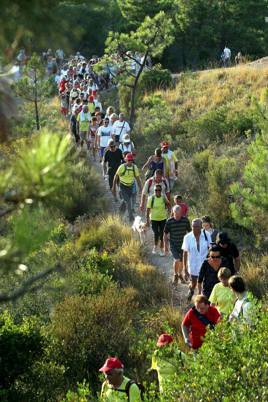 La randonnée de Carros a accueilli l'an passé 250 mordus.