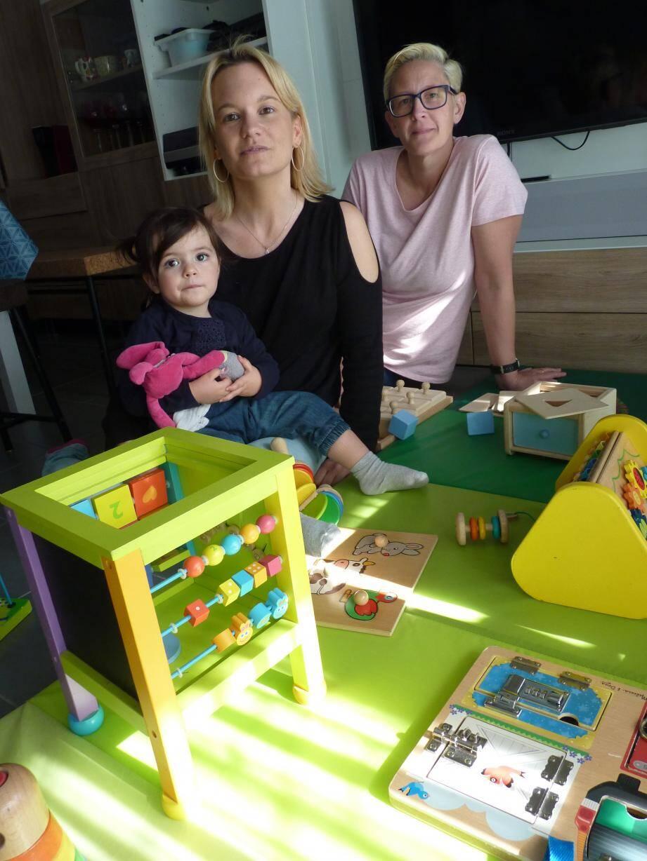 Deux assistantes maternelles lancent une MAM en septembre à l'Hôpital de La Fontonne.