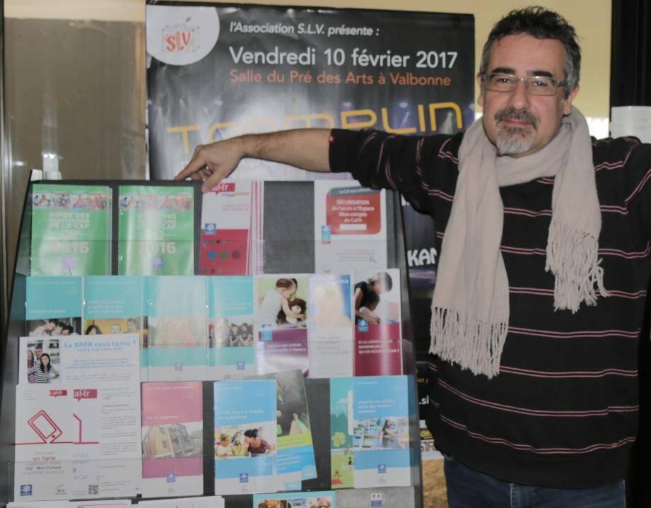 Thierry Lespinasse : «Les documents de la CAf sont disponibles au Cyberkiosc».