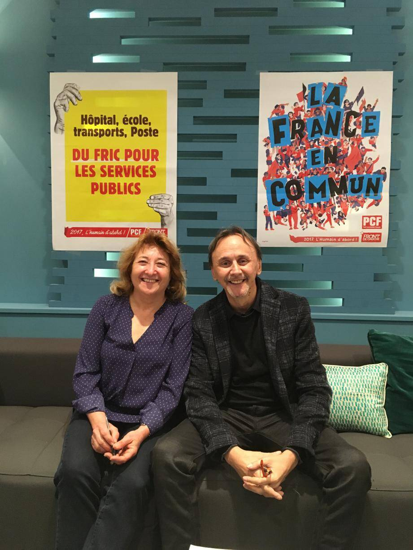 Odile Clemente et Philippe Gourier sont les candidats PCF/Front de gauche de la 9e circonscription.