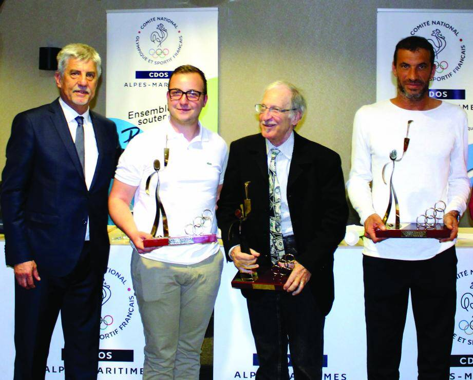Philippe Manassero, Alexis Raynaud, Fred Atlani et Christophe Pinna.