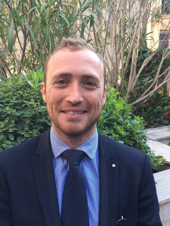 Adrien Rouanet, géomètre-expert et co-organisateur de la 1ère édition du Salon Auto Moto cannois.