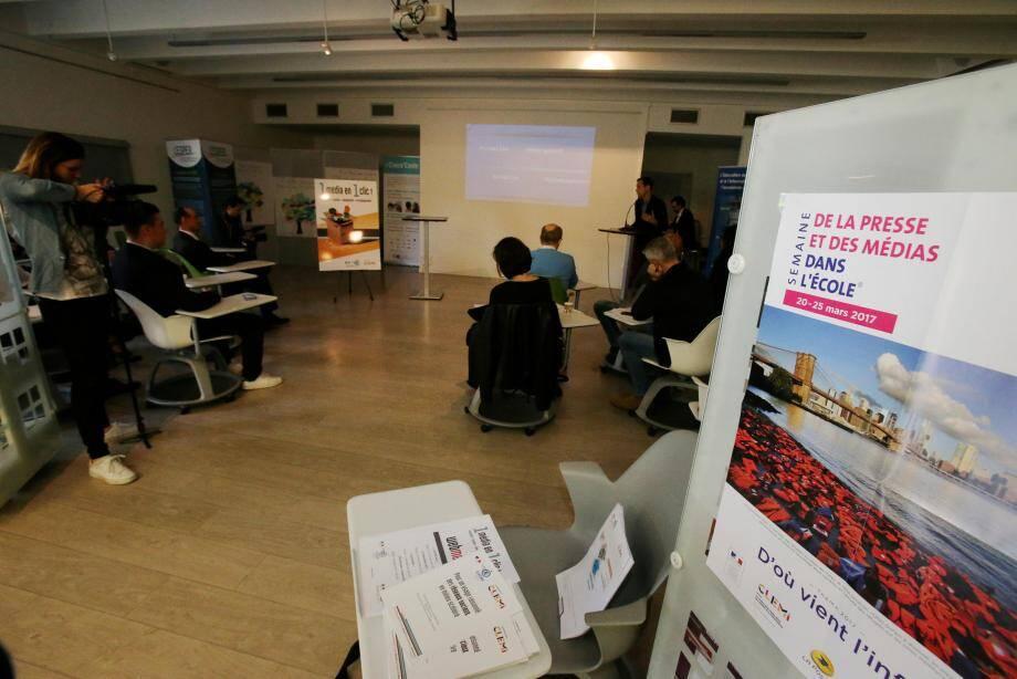 Centrée sur le thème «d'où vient l'info ?», la 28e édition de la Semaine de la presse à l'École bat des records de participation sur l'académie de Nice, avec 9 établissements sur dix inscrits.