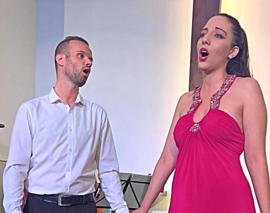 Florent Rami et Cécile Lo Bianco en concert demain à Cannes. (DR)