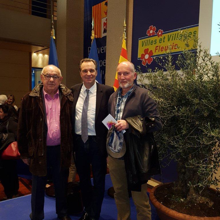 La remise des prix en présence du président du CRT Paca Renaud Muselier.(DR)