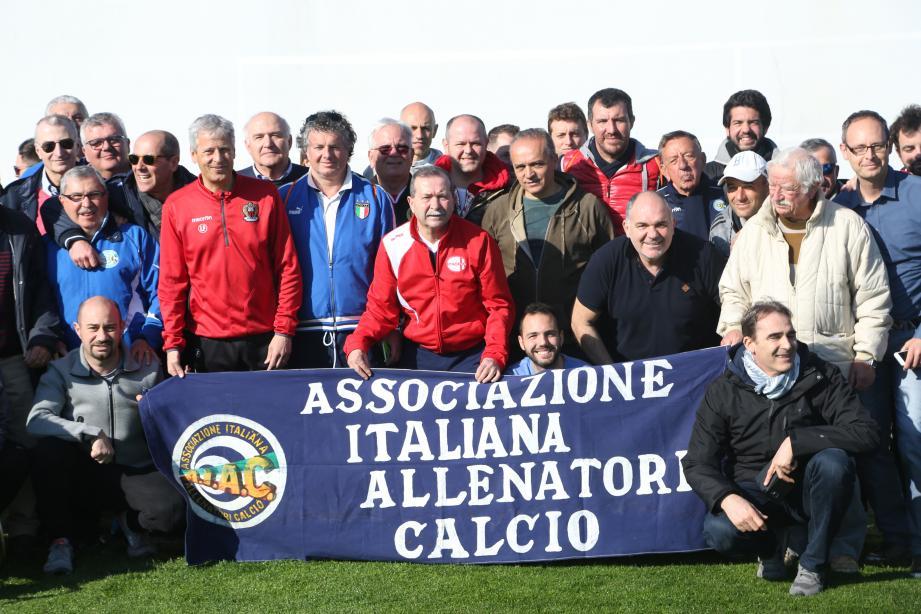 Les entraîneurs italiens ont découvert l'OGC Nice de l'intérieur.