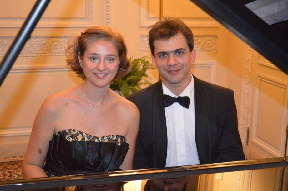 Stéphanie Bianchini et Fabien Charpentron. (DR)