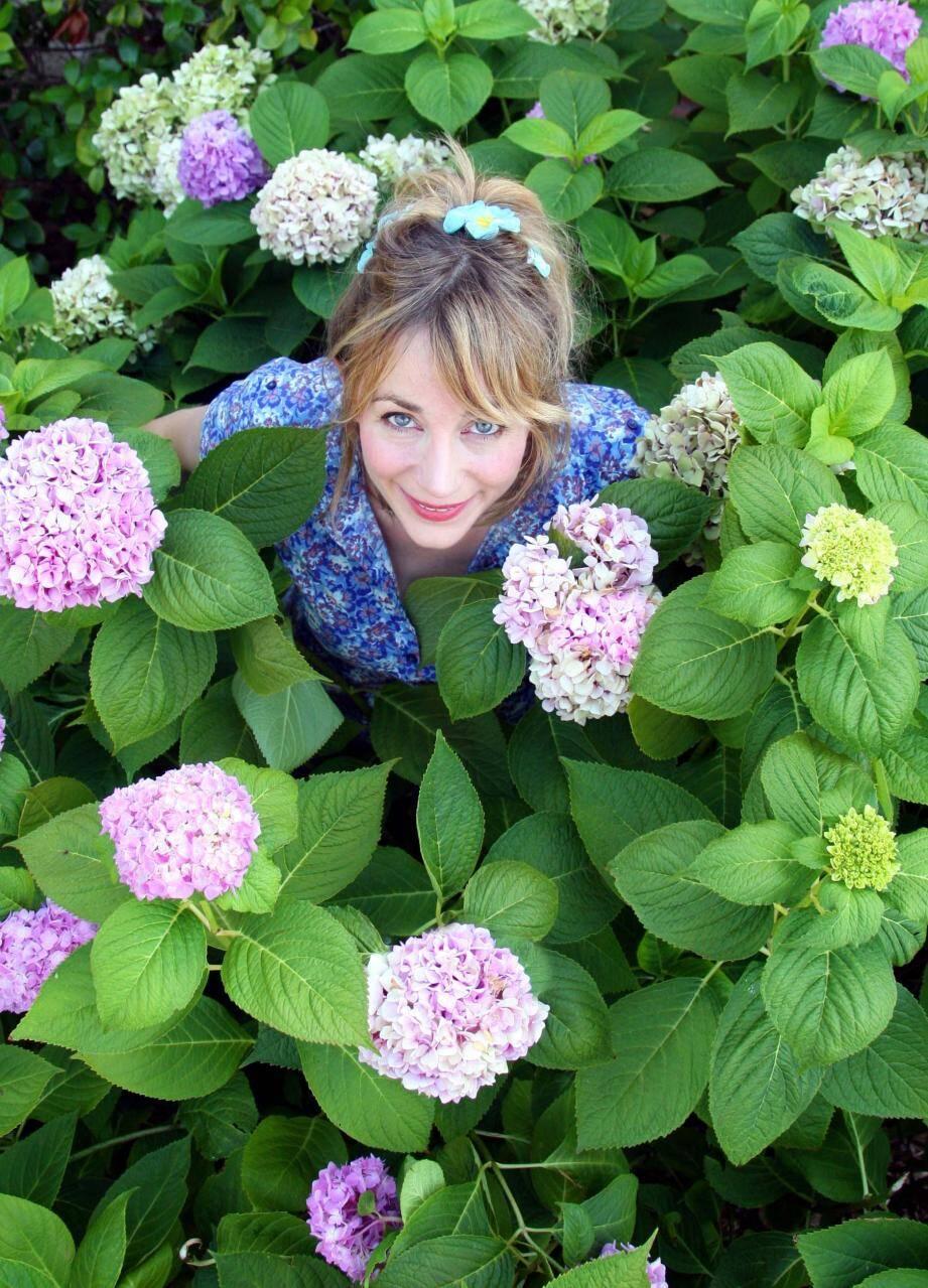 Marraine et président du jury, Julie Depardieu sera à Grasse samedi pour découvrir les jardins éphémères.