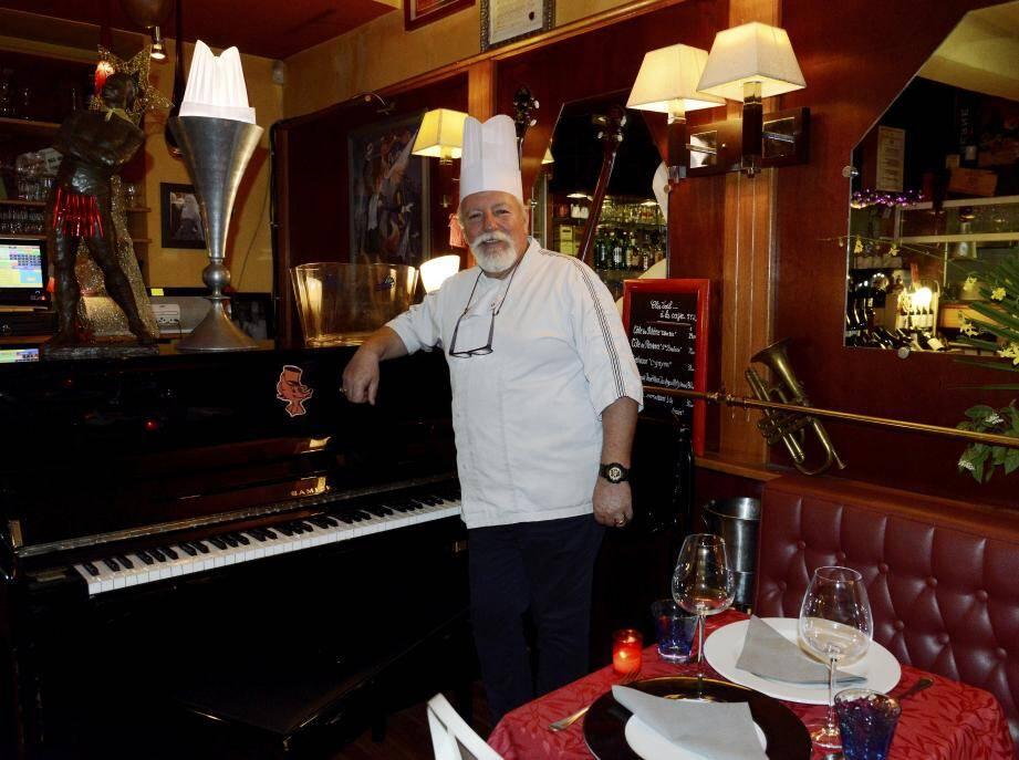 Philippe Renard vient de revendre son restaurant de la rue Forville pour aller prendre sa retraite dans le Pacifique ou dans l'Océan Indien.