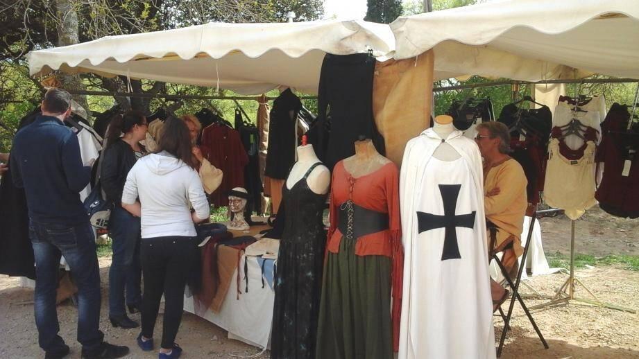 Le marché médiéval.