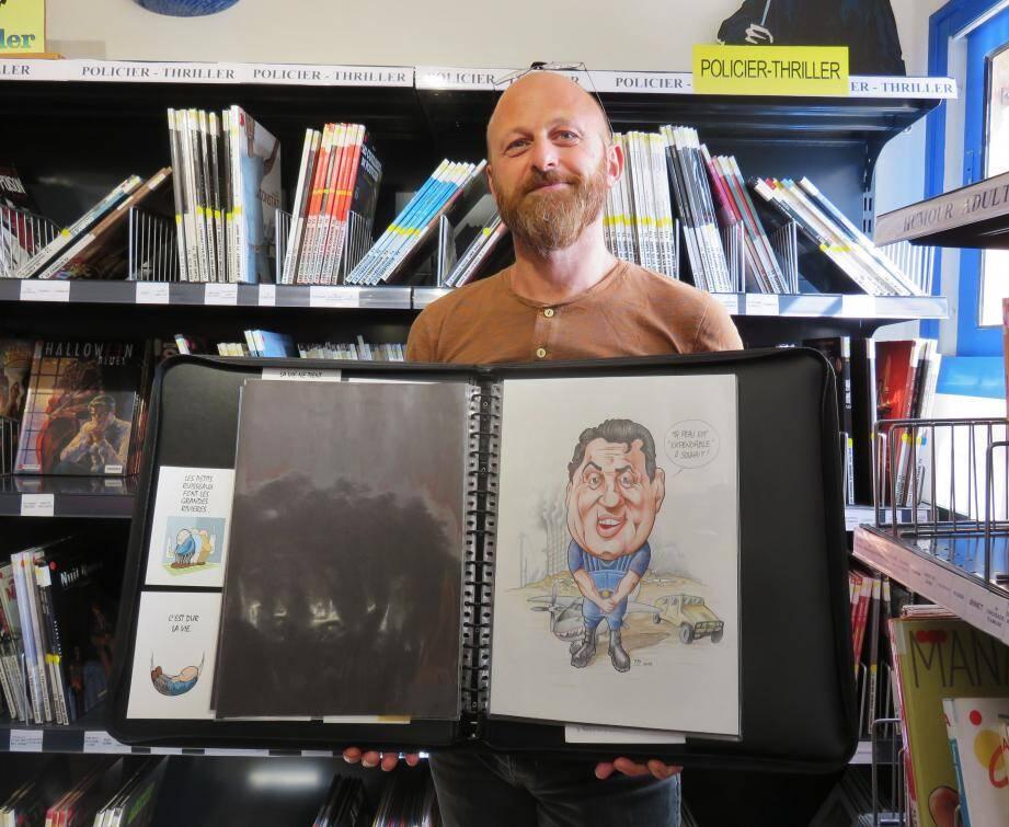 L'auteur Alain Libbra fait partie des invités. Il animera un atelier autour de la caricature.