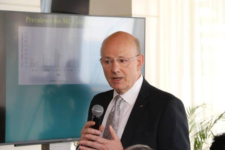 Le professeur Nadir Saoudi, du CHPG.