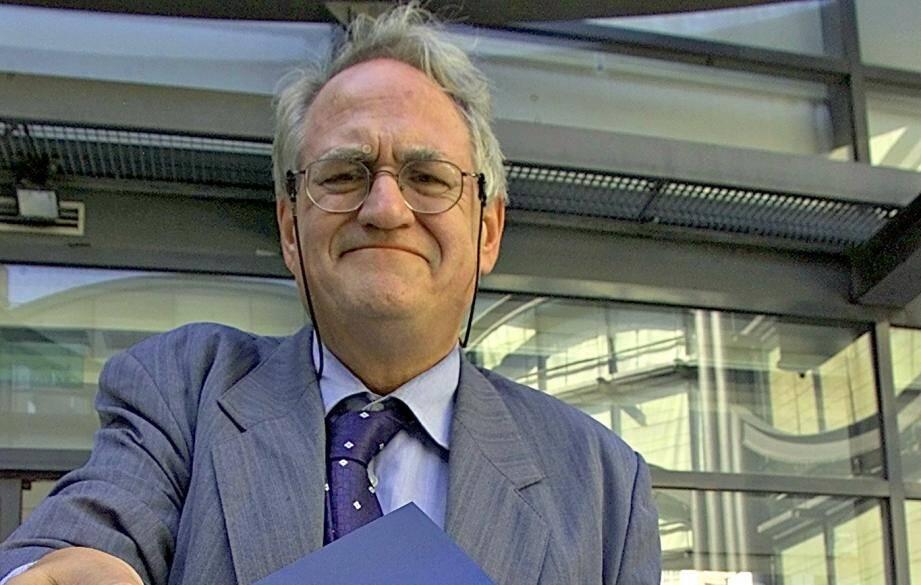 André Tosel à Nice en 2000.