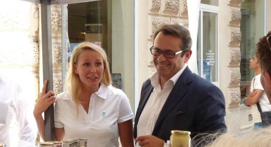 Marion Maréchal-Le Pen et Olivier Bettati.