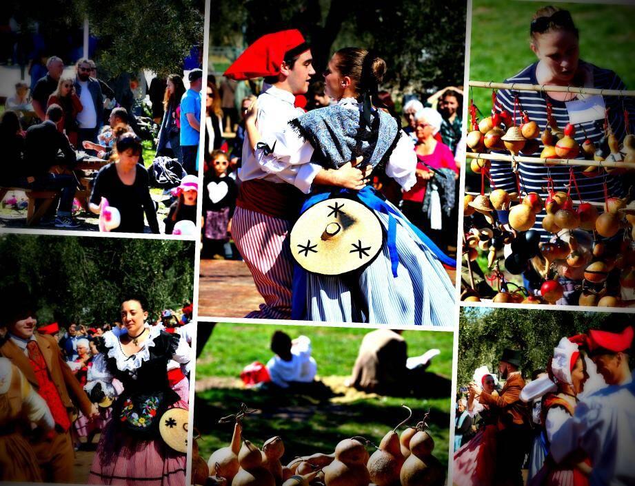 Hier, au jardin des Arènes de Cimiez, la foule était là pour renouer avec les traditions autour du festin des cougourdons.