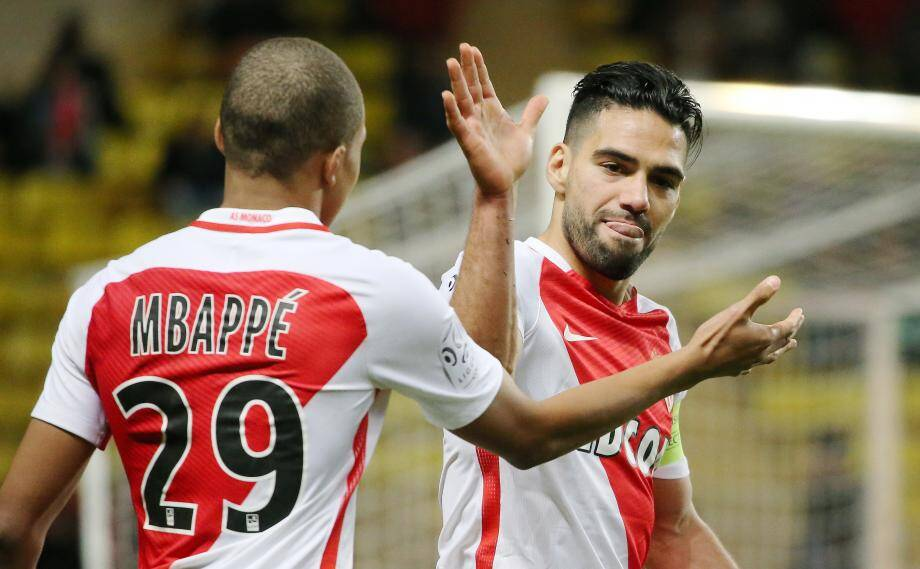 Kylian Mbappé et Radamel Falcao.