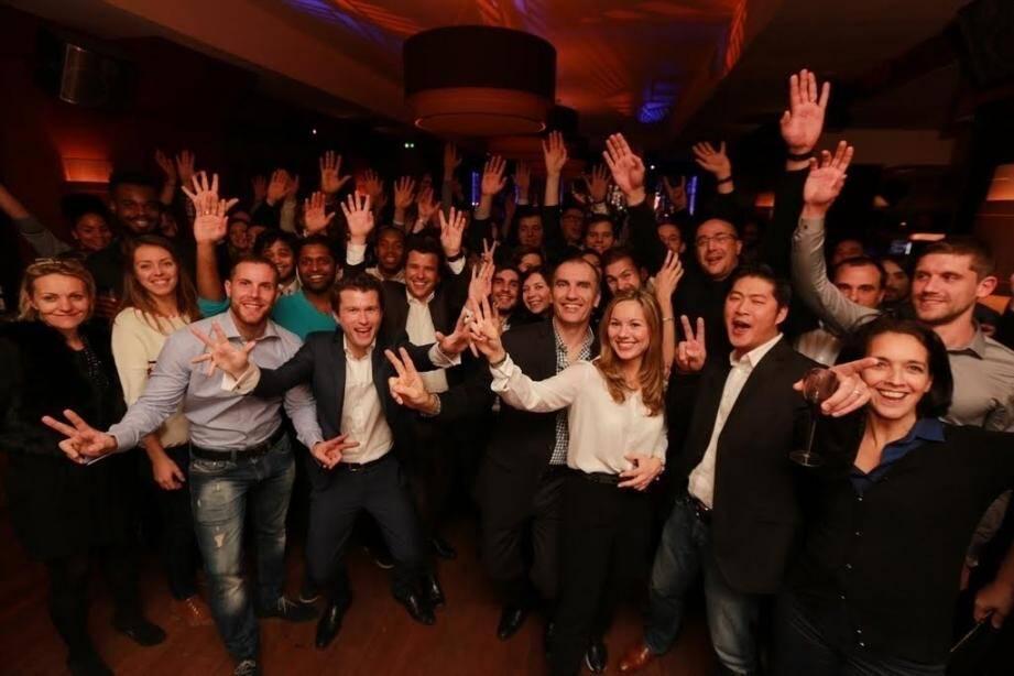 Les salariés de Sophia Conseil fiers de figurer au palmarès de Great Place to Work France.