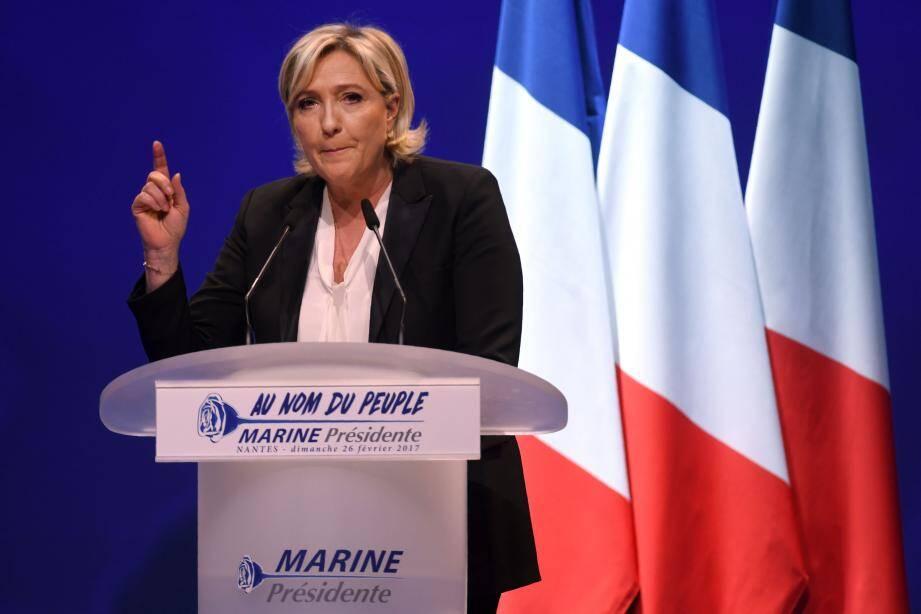 Marine Le Pen est convoquée vendredi prochain par les juges d'instruction du pôle financier.