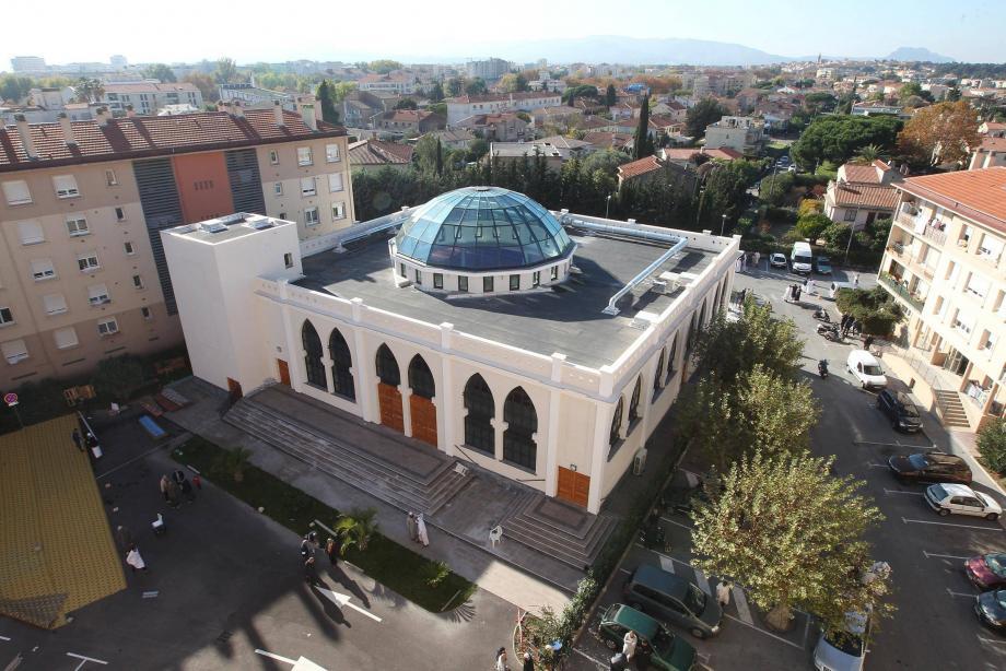 La mosquée de Fréjus.