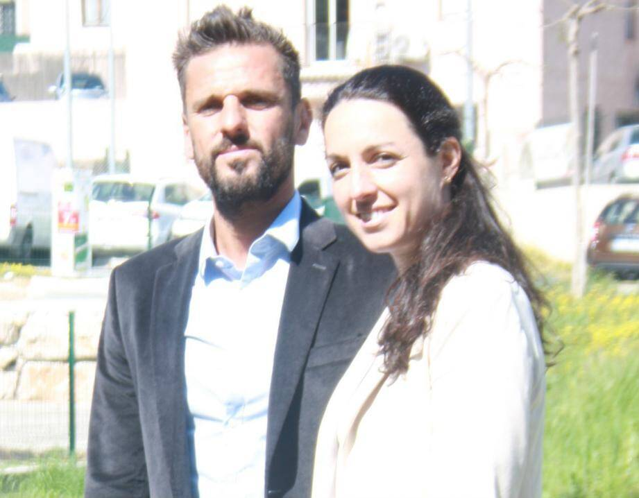 Mickaël Albin et Virginie Robino Gauci.