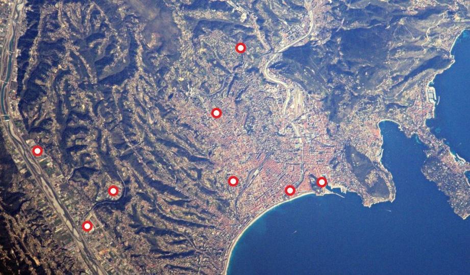 Savez-vous ce qui se cache sur la dernière photo de Nice envoyée par l'astronaute Thomas Pesquet?