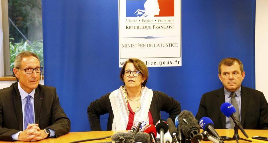 Le procureur de la République, Fabienne Atzori, n'exclut pas d'éventuelles complicités.