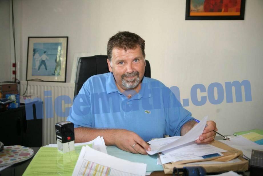 Le proviseur Hervé Pizzinat en 2010.