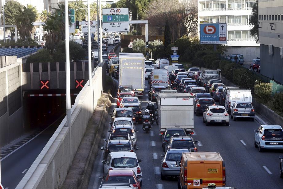 Illustration tunnel de Toulon