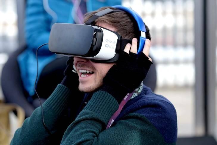 Réalité virtuelle.