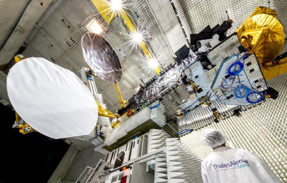 Thales Alenia Space le 16 Mars 2015