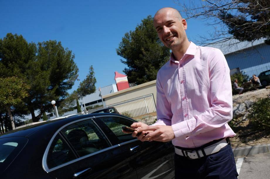Le fondateur de l'application My Sam recense pour l'instant une centaine de chauffeurs en région Paca.