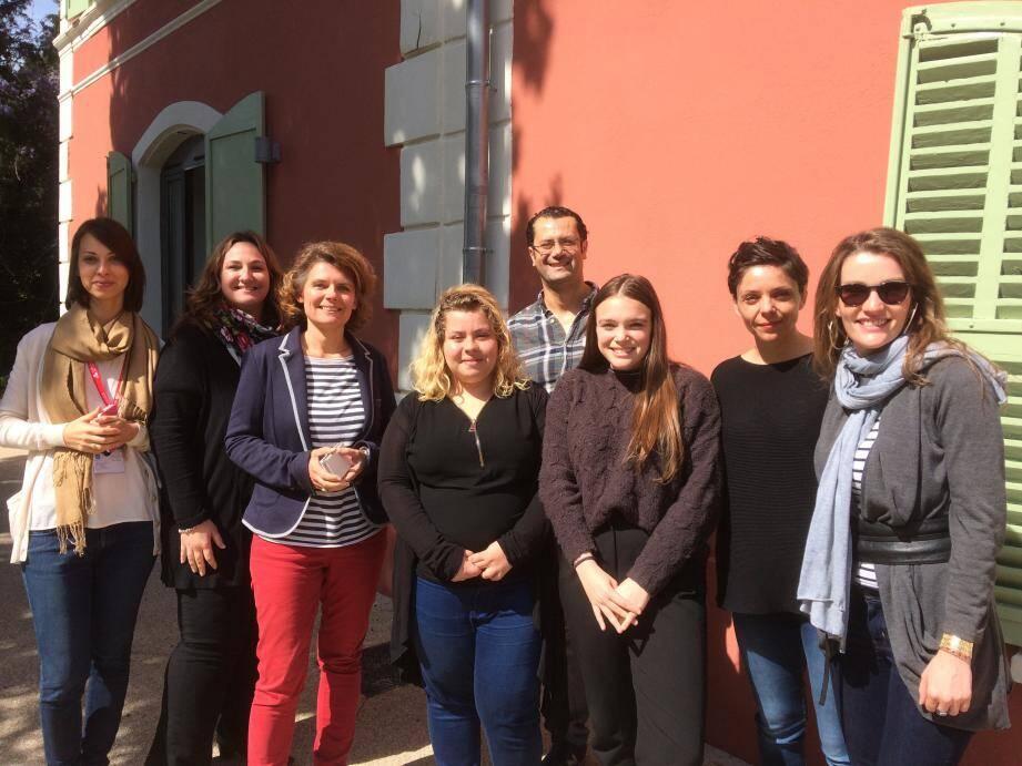 Les femmes chefs d'entreprise et porteuses de projet ont partagé leur expérience avec des collégiens et lycéens.