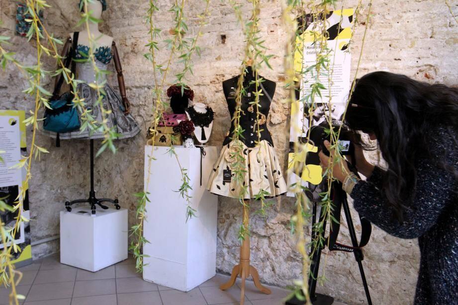 Les artisans ont réalisé des œuvres exclusives sur le thème de L'arrivée du printemps.