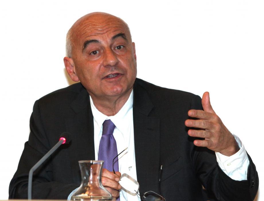 Marc Daunis s'est félicité que le projet de gare aux Bouillides soit écarté.