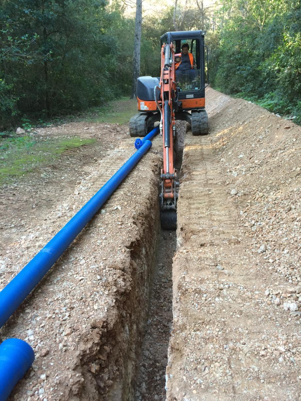 5, 6 km de canalisations pour renforcer le réseau incendie