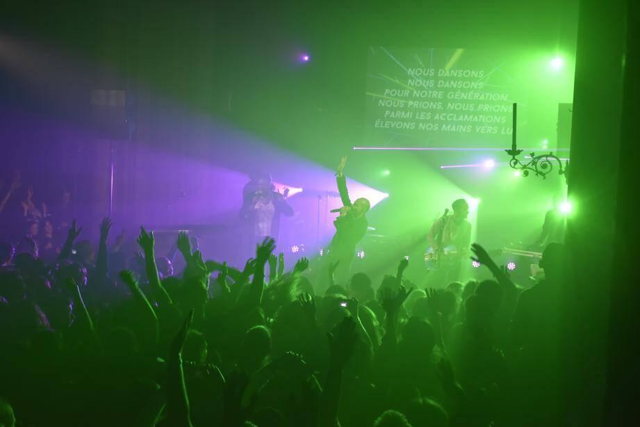 Le groupe de rock a séduit le jeune public samedi soir.(DR)