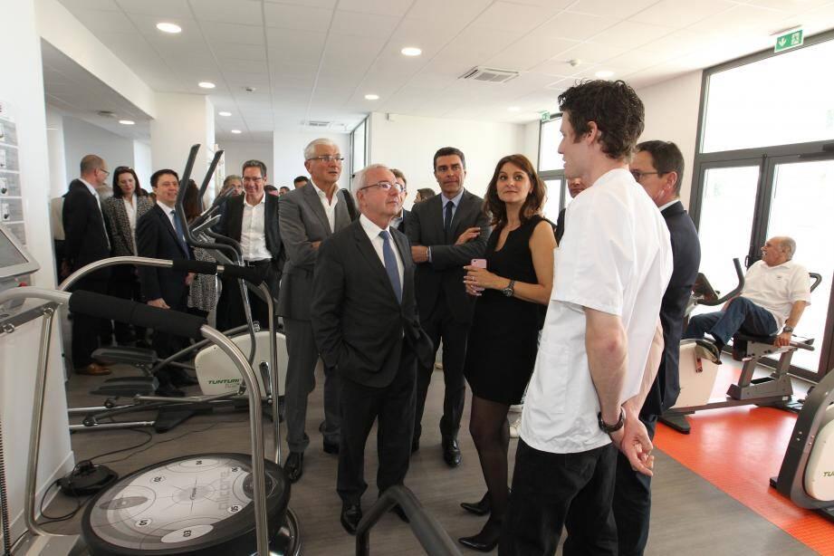 L'établissement de soins et de réadaptation qui vient d'ouvrir ses portes après deux ans de travaux est notamment équipé d'un centre de remise en forme des plus performants.