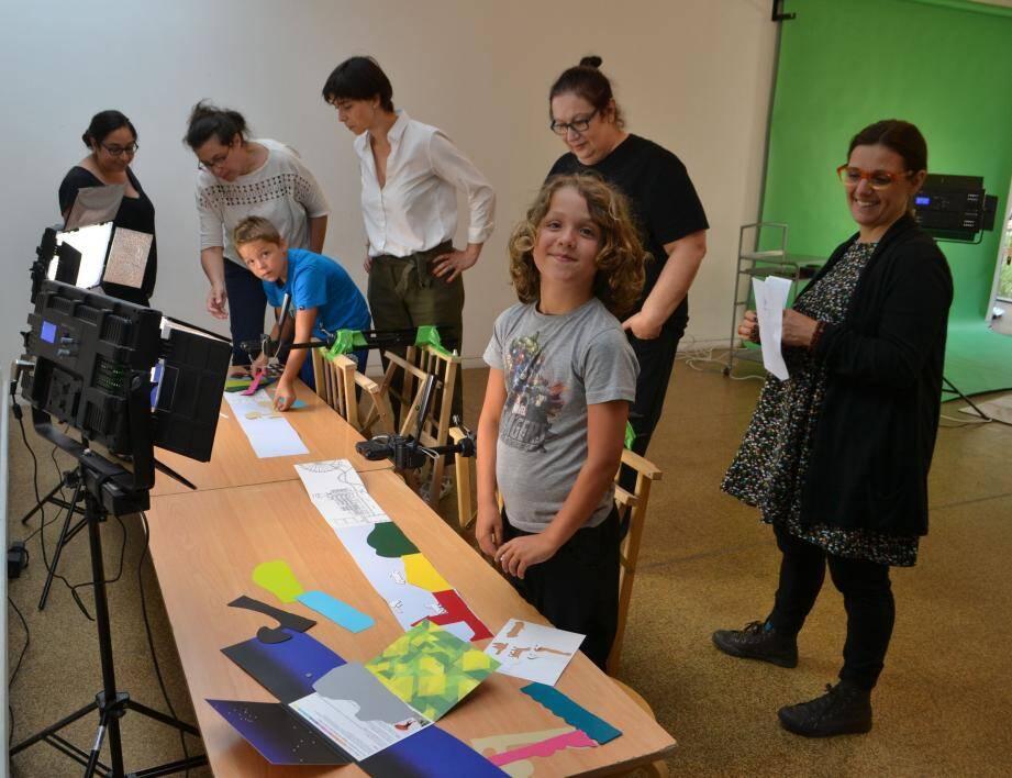 Les différents ateliers pédagogiques proposés sur la commune de Mouans-Sartoux devraient largement ouvrir les portes de la créativité de plus jeunes.