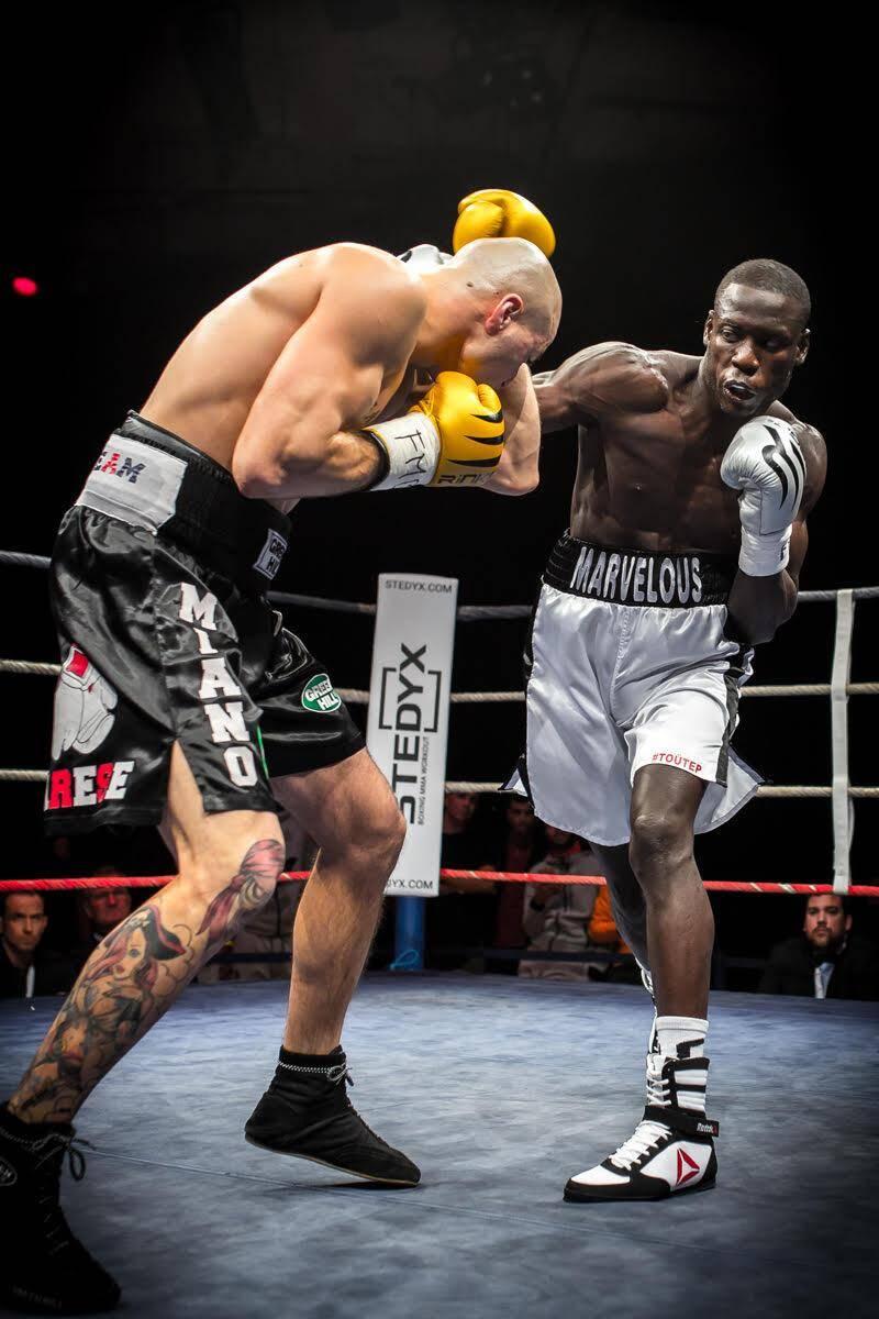Gus Tamba combattra pour la 3e fois à Monaco en pro.(PhotoDR)