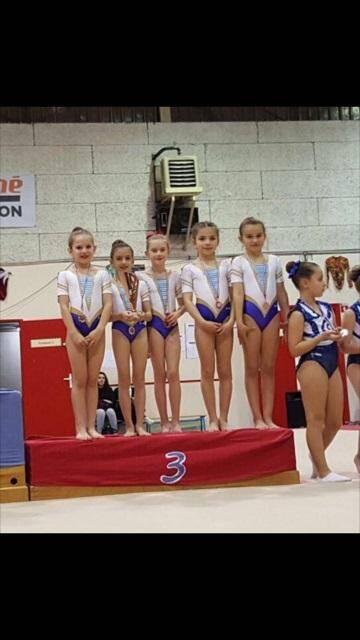 Pas une chute et un beau podium pour les jeunes représentantes du Femina Sports.
