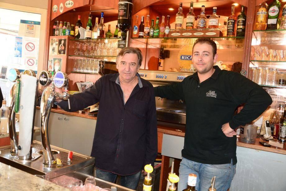 Patrick et Mathieu Fontana au « Populaire ».
