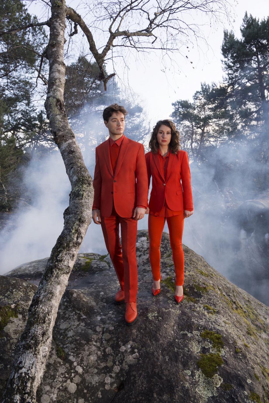 Un très jeune et talentueux duo, Thomas Enhco et Vassilena Séramifova à la Terrasse des Arts ce soir.  DR