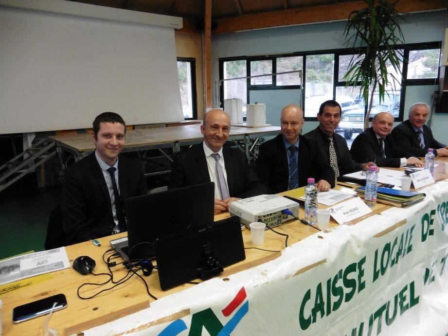 La caisse locale  du Crédit Agricole de Tende a tenu son assemblée générale ordinaire.