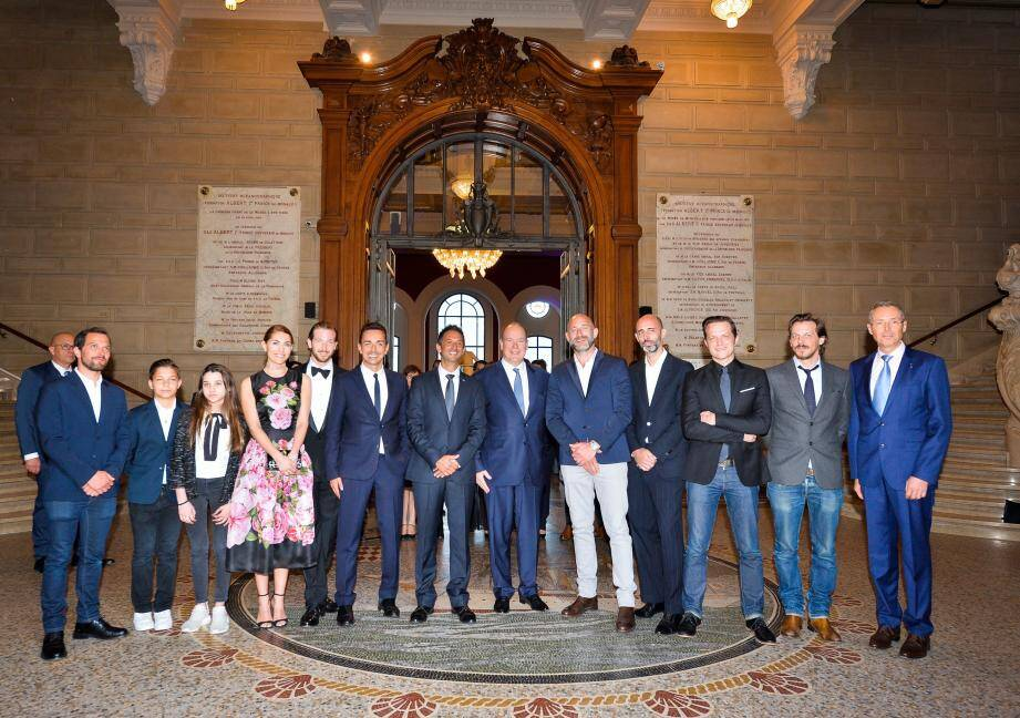 L'équipe est venue présenter le résultat lors d'une avant-première au musée Océanographique sous l'œil du prince Albert II.