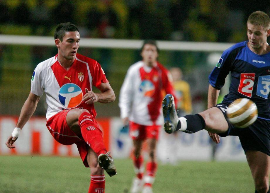 Avec l'AS Monaco en 2005.