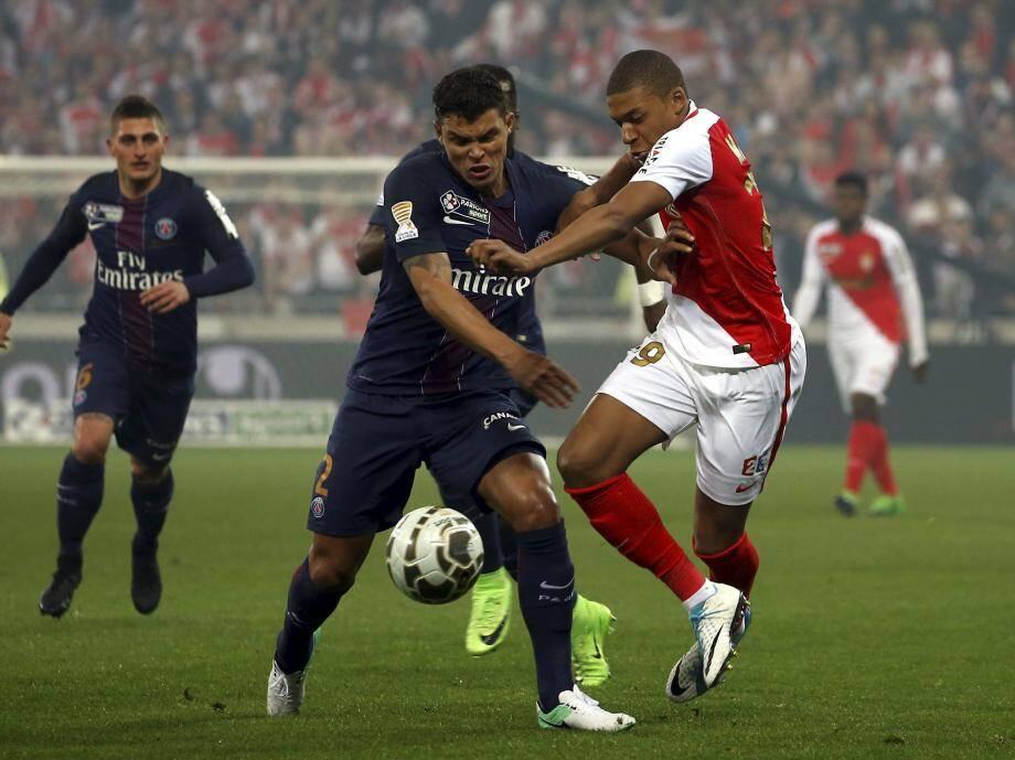 Mbappé n'a pas trouvé la solution face à l'expérimenté Thiago Silva.