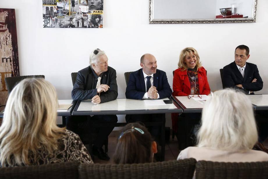 Frédéric Boccaletti, secrétaire départemental du Front national, a confirmé hier l'investiture d'Aline Renck-Guigue dans la troisième circonscription.