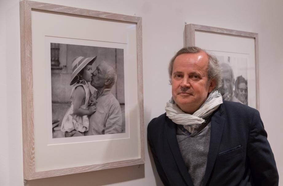 Jean-Louis Andral a choisi lui-même les 126 photos - sur 9 000 ! - qui sont présentées, pour la première fois, dans la cité des Remparts.